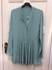 Artigiano Quality Jersey Tunic Long Top Blouse Shirt UK 14