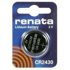 5 Pack Renata CR2430 Lithium Coin Batteries 3V Blister Card Packaged For Peg Hoo
