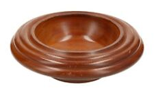 A hand turned wooden bowl Nice quality Stepped design
