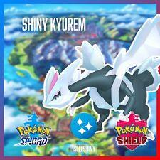 SHINY KYUREM | BRAND NEW DLC CROWN TUNDRA POKEMON SWORD & SHIELD