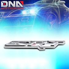 FOR DODGE SRT4/SRT8 STICKON 3D POLISH CHROME AUTO METAL EMBLEM TRIM BADGE LOGO
