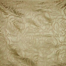 SCALAMANDRE PHOEBE SILK DAMASK FABRIC 5 YARDS GILT
