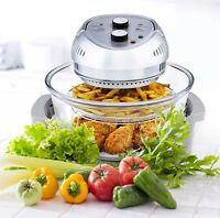Big Boss Air Fryer Healthy 1300W XL 16-Quart + 50 Recipe Cookbook, 7 Colors!