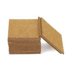 20pcs Furniture Pads Felt Sheets Self Adhesive Wood Floor Protectors 7cmx7cm T1Q