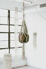 """42"""" Macrame Plant Hanger Hand Crafted Easy Use"""