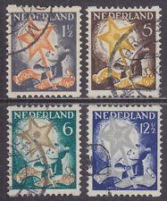 R98-101 Roltanding kinderzegels 1933 gebruikt