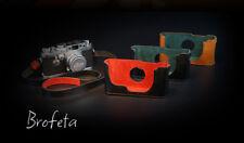 Brofeta halfcase for Leica IIIG 3G IIIF 3F film camera leathar case/bag