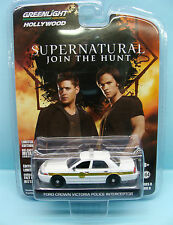 CH15/052 GREENLIGHT / SUPERNATURAL JOIN THE HUNT / FORD CROWN VICTORIA 1/64