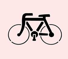 "4"" BICYCLE STENCIL TEMPLATE STENCILS CRAFT PAINT PATTERN SCRAPBOOK ART NEW"