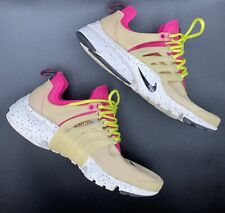 New listing Nike Women's Air Presto Pink Running Shoes Lace Up US Size 7