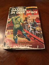 Tom Corbett Danger in Deep Space Carey Rockwell Space Cadet vintage 1953 hb