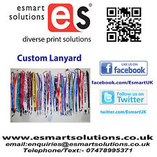 50 x Custom Printed Neck Lanyards