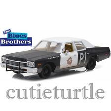 Greenlight 1974 Dodge Monaco Bluesmobile The Blues Brothers 1:24 84011 Black W