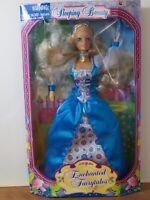 Vintage Enchanted Fairytales Cinderella Doll Jakks Pacific 1997 Damaged Box