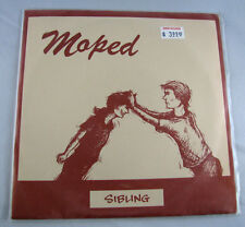Moped Sibling 7 In. - Green Vinyl Hep-Cat Records (1995) Indie Rock Alternative