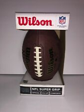 Wilson Nfl Super Grip Football Official Size Cover National Football League Feel
