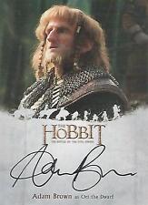 "The Hobbit Battle of the Five Armies - AB Adam Brown ""Ori"" Autograph Card"