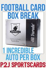 Hit Parade 2020 PLATINUM FOOTBALL CARD BOX BREAK 1 RANDOM TEAM Break 2958