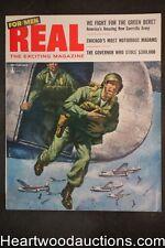 Real For Men Feb 1956 Norman Saunders, Mamie Van Doren, Rafael de Soto - Ultra H