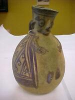Pre-Columbian Chancay Fisherman Vessel Peru C. 1200-1400 AD