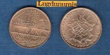 10 Francs Mathieu 1977 Tranche A SUP Liberté Egalité Fraternité sur la Tranche