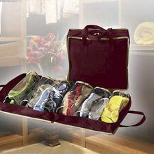 Sac à chaussures voyages Portable durable rouge rangement propre grande chaud