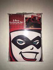 Harley Quinn 2 Pack Pillowcase Set
