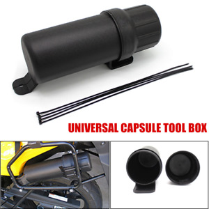 Universal Motorcycle Tool Tube Gloves Raincoat Storage Box Waterproof For Yamaha