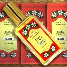 Monoi Tiki Tahiti Eau de Toilette Natural Spray TIARÉ 100ml Tahiti-Gardenie