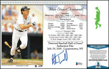 ALAN TRAMMELL AUTOGRAPHED SIGNED 8X10 PHOTO PICTURE BASEBALL TIGERS BECKETT COA