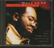 CURTIS MAYFIELD Move On Up CD ALBUM HALLMARK MINT FREE WW SHIPPING