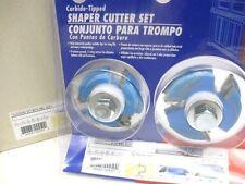 """Amana SC450  shaper cutter spndle molder FLOORING SET / NAIL SLOT 3/4"""" bore"""