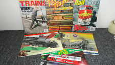 SET OF 6 TRAIN ITEMS-LIONEL 1999(3)-1997 CALENDAR -TOY TRAINS OF YESTERYEAR1972