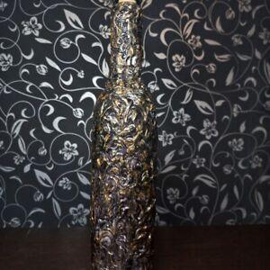 Decorative bottle of the author's handmade Nesterov Vladislav