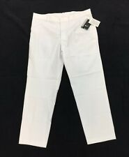 NEW Nike Golf Pants Modern Fit Dri-Fit 833190-100 White Washed Mens Size 36x30