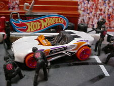 2021 ACTION Design CARBONIC ☆white;3;magenta☆Best for Track☆LOOSE Hot Wheels