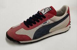 Puma Men Anjan Pompeian Red / Snow White / New Navy Shoes 340678-34