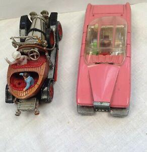1 corgi  Chitty Chitty bang bang +Dinky Fab 1 Lady Penelope's  Thunderbird