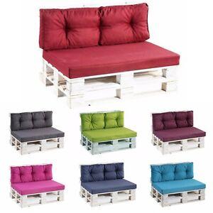 Coussins pour palettes, siège, dossier, appui, canapé jardin PPF