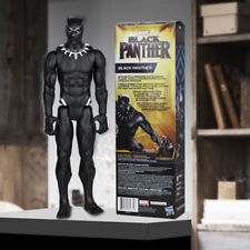 "Black Panther Action Figure Marvel Hero Avengers Infinity War 12"" Toy With Boxed"