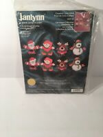 Janlynn Christmas Collection Ornaments Counted Cross Stitch Kit 157-96 Santa Elf
