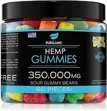 Gummies for Stress Relief - Great for Pain, Insomnia & Anxiety Management