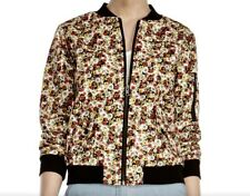 Womens Manoush Cotton Floral Bomber Jacket Size 6US/ 40 EU NEW with tags
