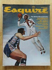 Esquire 10 Best Dressed Jocks WALT FRAZIER August 1972 Magazine NEW YORK KNICKS