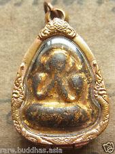 Phra Pit Ta ( pitda) L P Jeen, Wat Tha-Ta-Rad, Chac Cheng Sao year 2430 Buddha