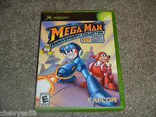 MEGA MAN ANNIVERSARY COLLECTION CAPCOM ORIGINAL XBOX VIDEO GAME DISC