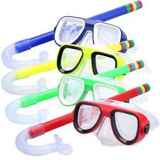 Kinder Schnorchelmaske Schnorchelset Taucherbrille Schwimmbrillen 3-9 Jahre alt