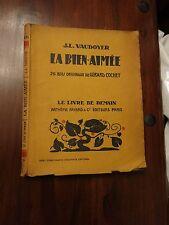 La Bien-Aimee by JL Vaudoyer - Fayard Livre de Demain No 56 series 1927