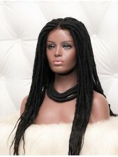 Faux Locs Wig - Lace Frontal Faux Locs - Braided Wig -African Locs -Faux Locs