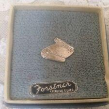 Vintage Forstner Sterling Silver Diploma Pin NIB